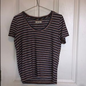 stripped tee shirt